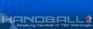 Logo Handball TSV Wertingen