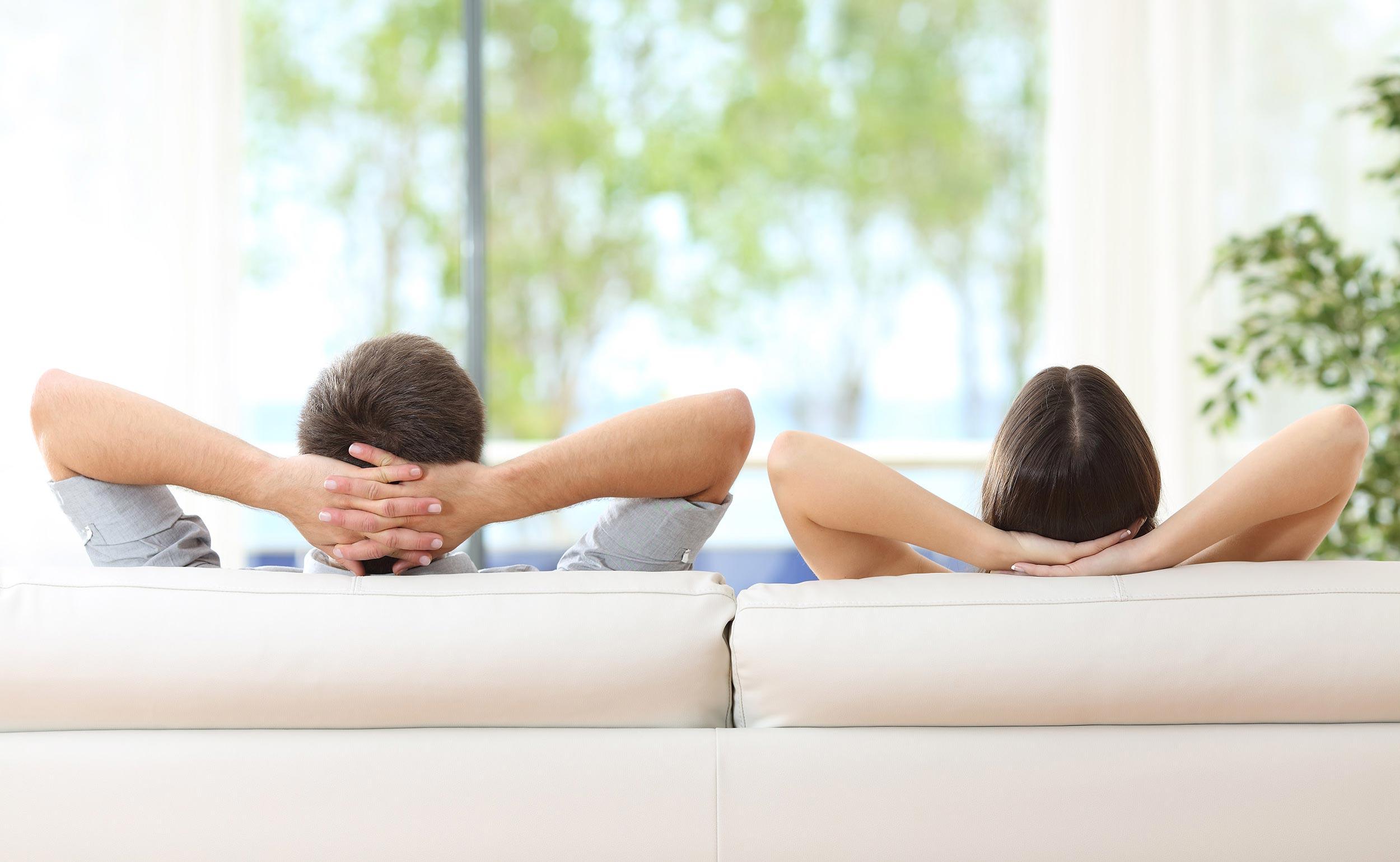 bei Wohnraumlüftung kann man sich entspannt zurücklehnen